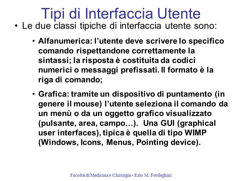 Tipi di Interfaccia Utente