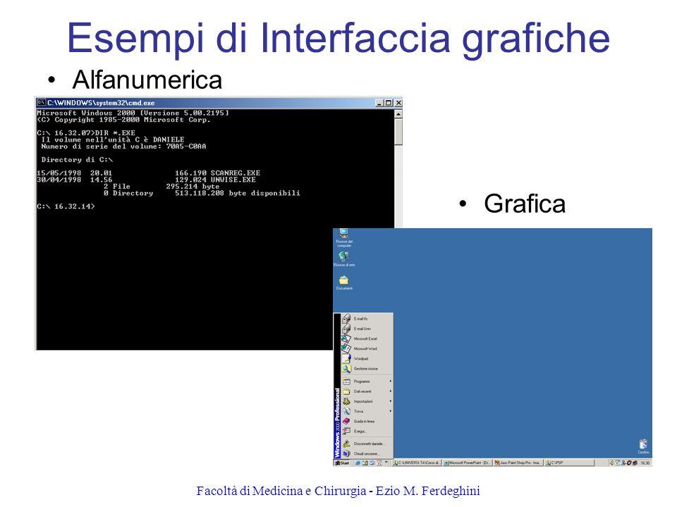 Esempi di Interfaccia grafiche