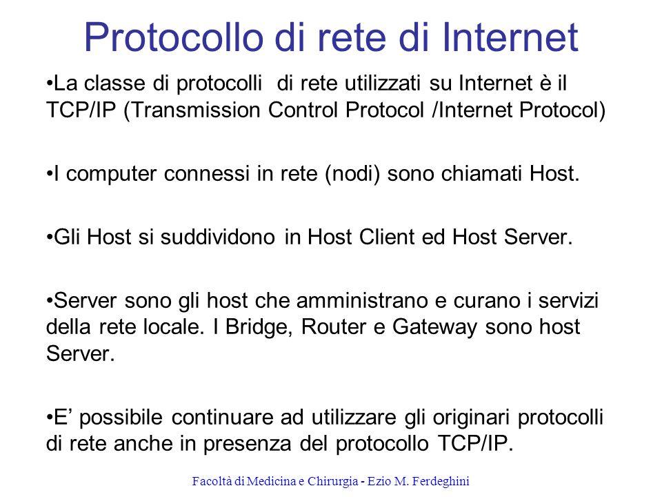 Protocollo di rete di Internet