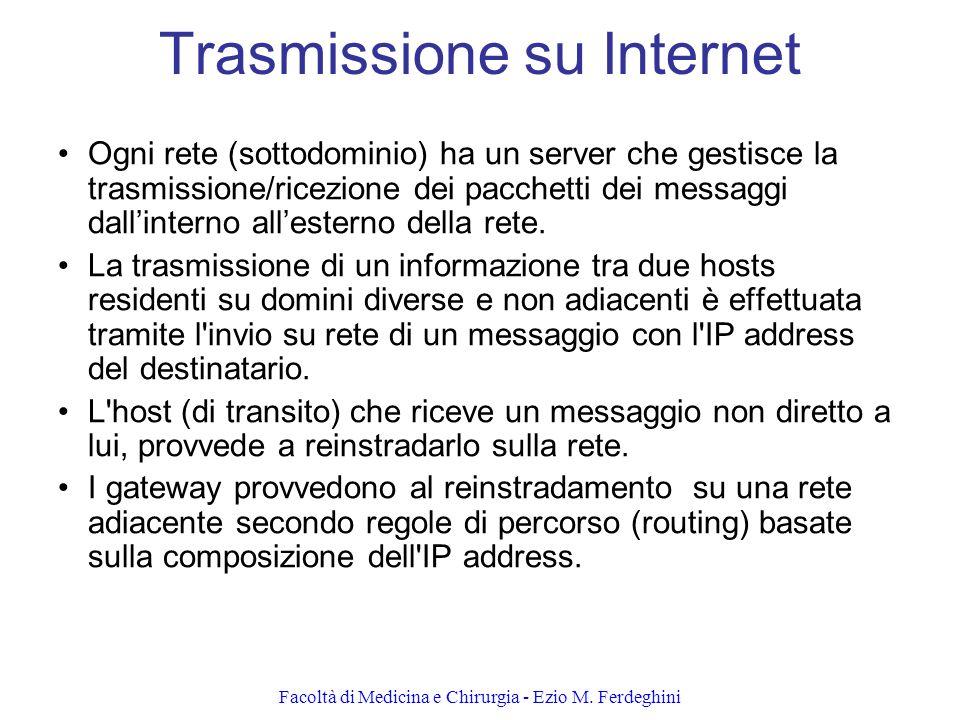 Trasmissione su Internet