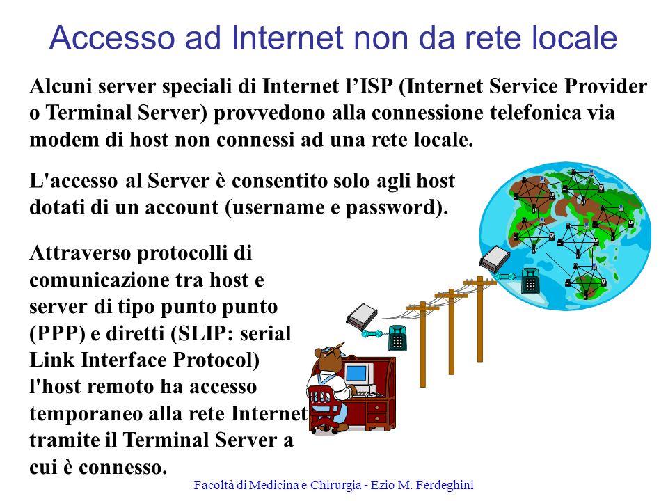 Accesso ad Internet non da rete locale