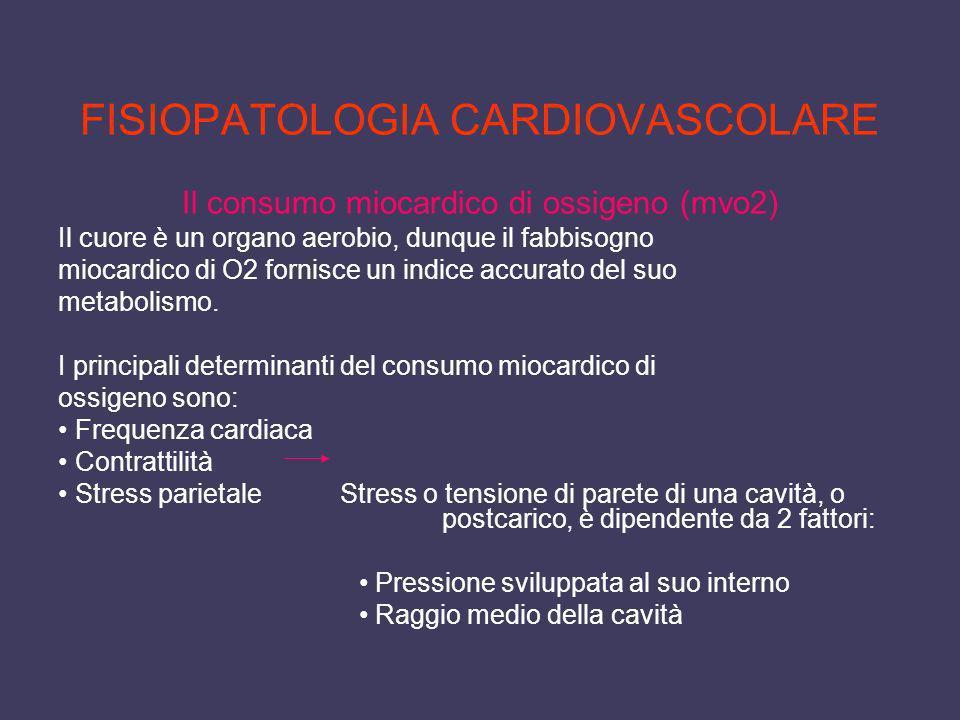 FISIOPATOLOGIA CARDIOVASCOLARE