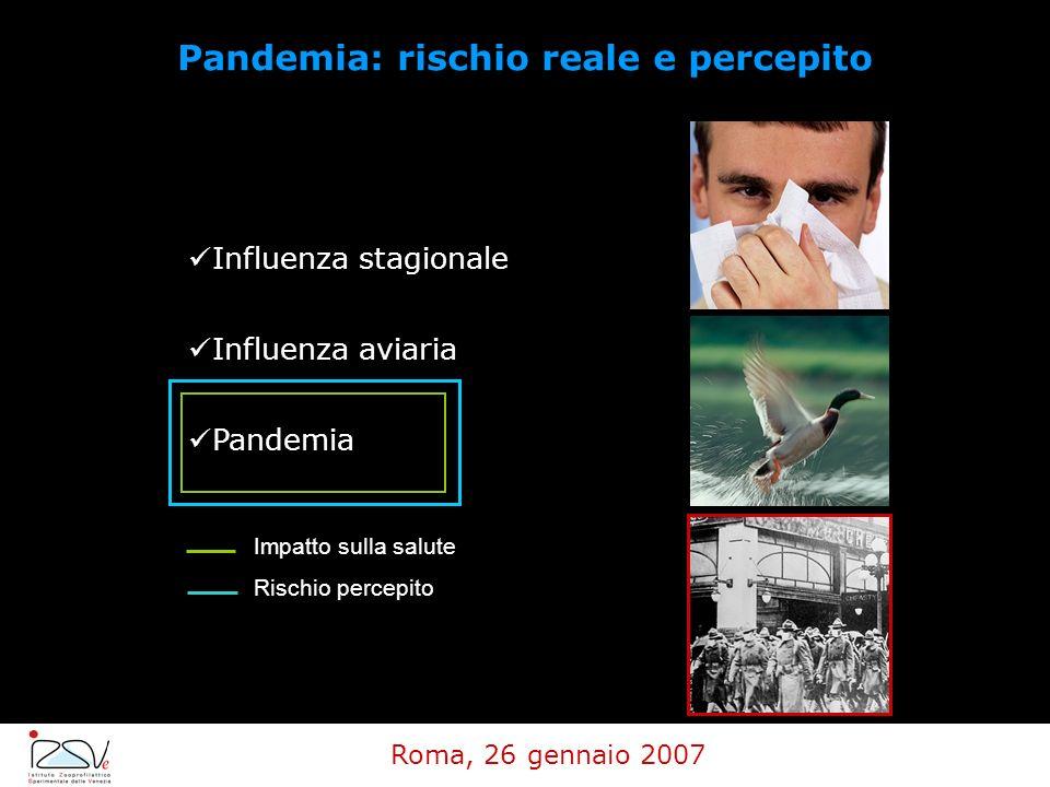 Pandemia: rischio reale e percepito