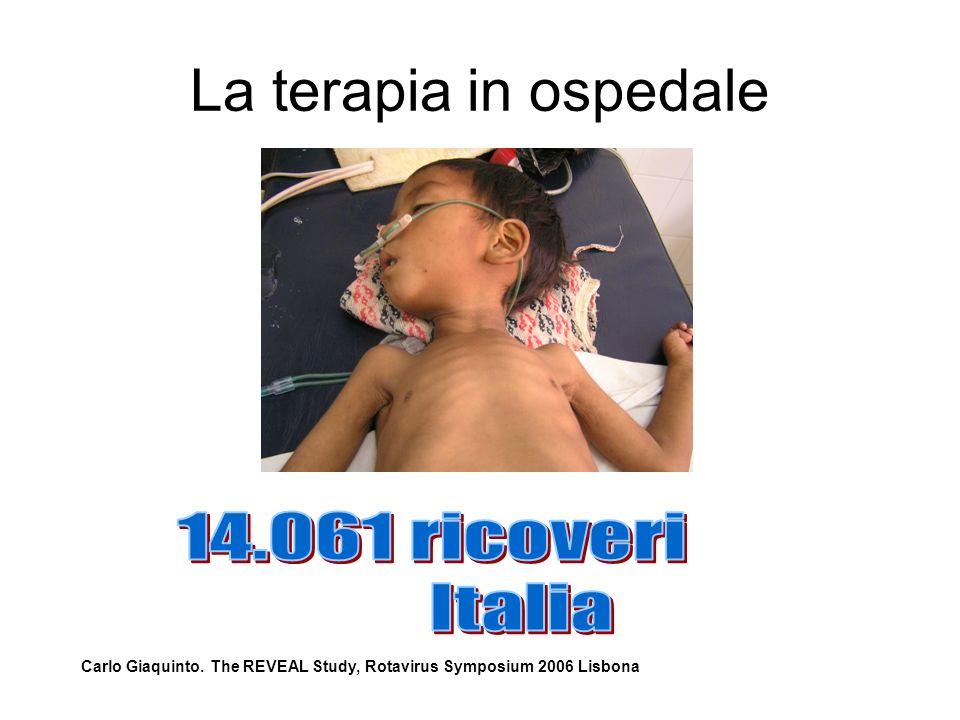 La terapia in ospedale 14.061 ricoveri Italia