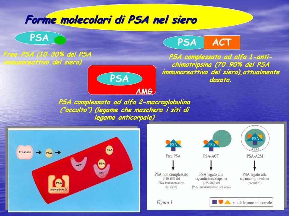 Forme molecolari di PSA nel siero