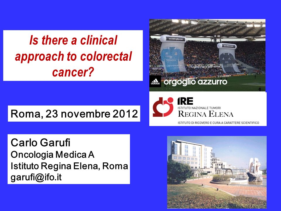 Is there a clinical approach to colorectal cancer
