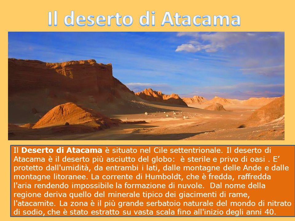 Il deserto di Atacama