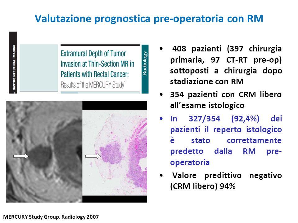 Valutazione prognostica pre-operatoria con RM