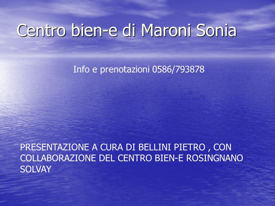 Centro bien-e di Maroni Sonia