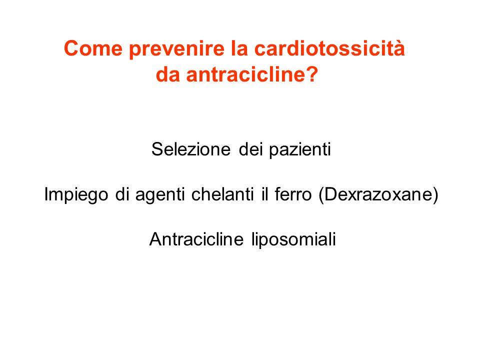 Come prevenire la cardiotossicità