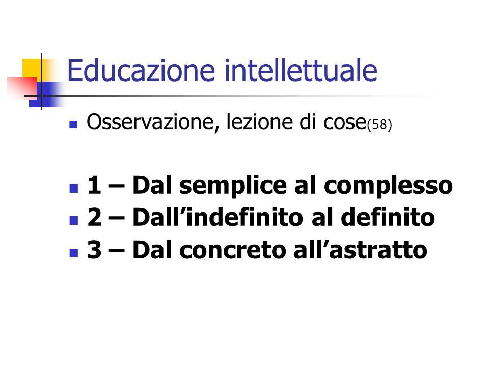 Educazione intellettuale