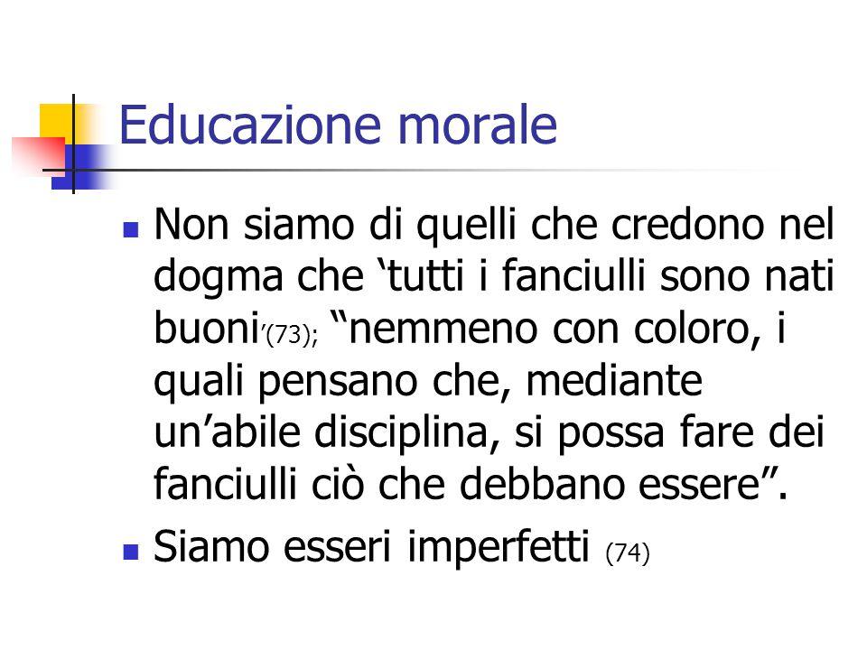 Educazione morale