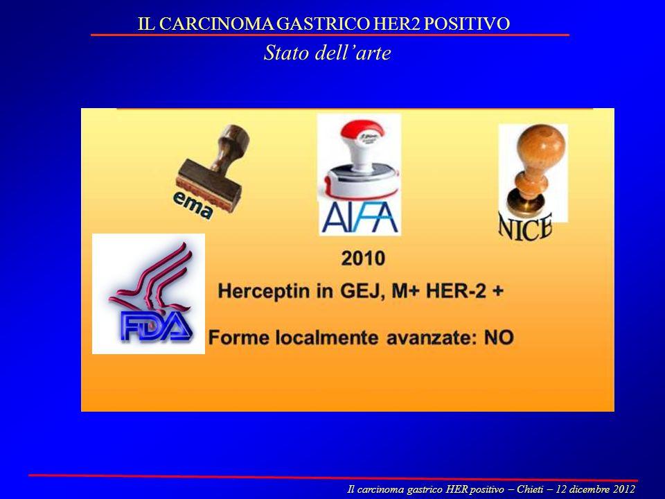 IL CARCINOMA GASTRICO HER2 POSITIVO