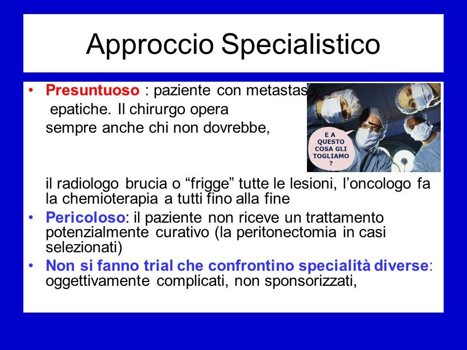 Approccio Specialistico