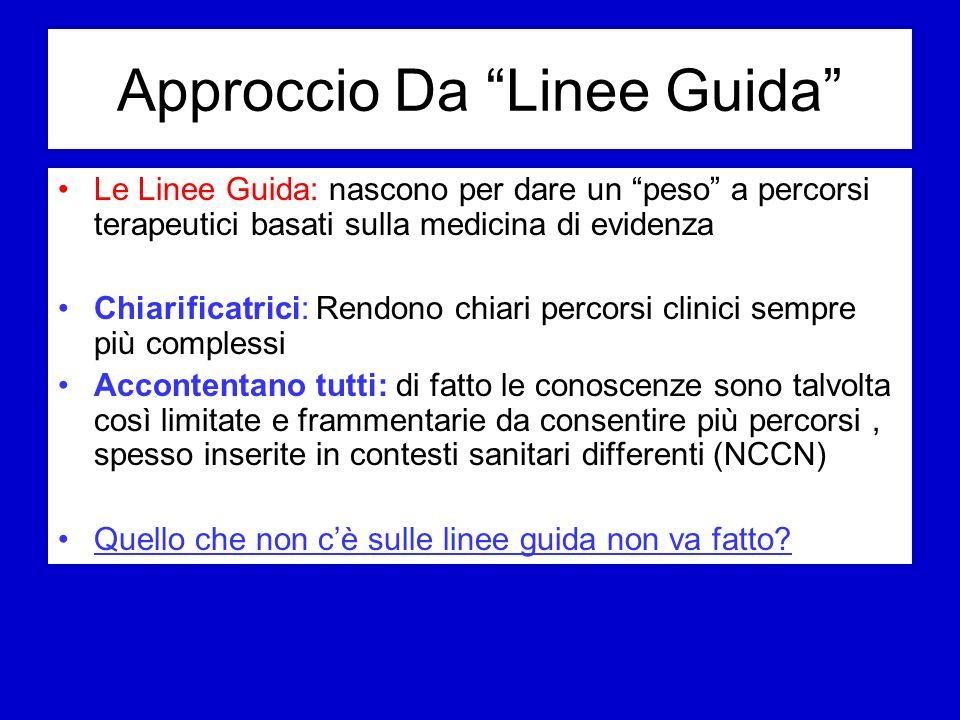 Approccio Da Linee Guida