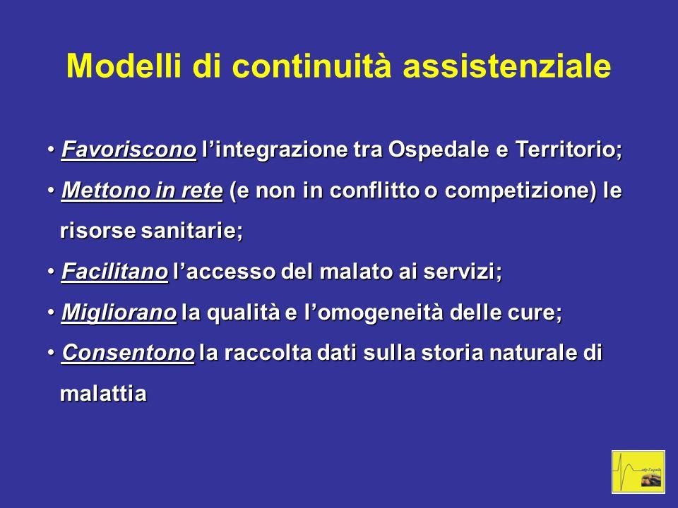 Modelli di continuità assistenziale