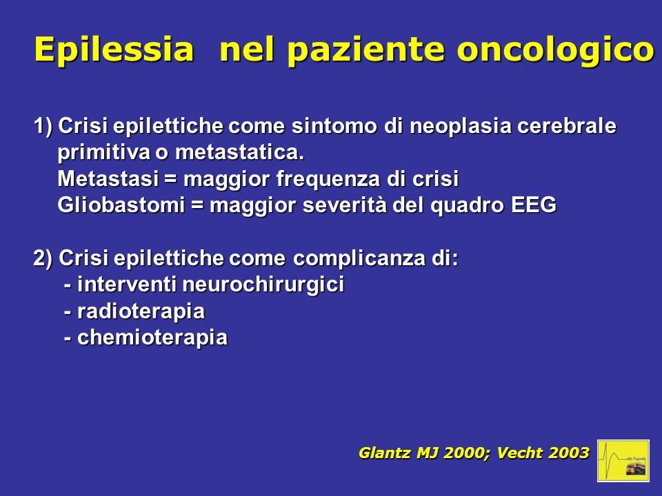 Epilessia nel paziente oncologico