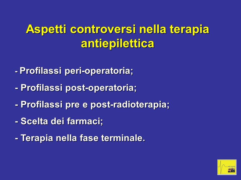 Aspetti controversi nella terapia antiepilettica
