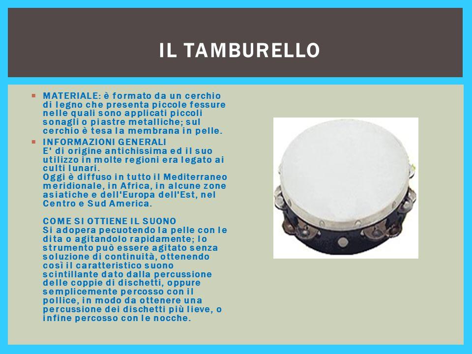 Il tamburello