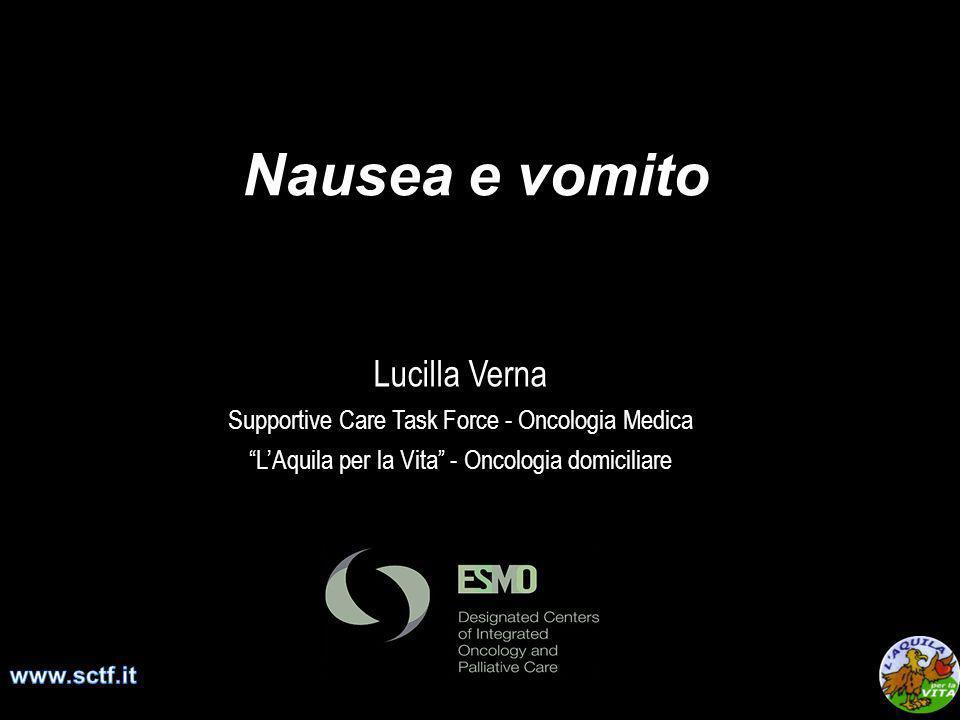 Nausea e vomito Lucilla Verna