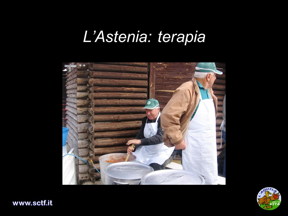 L'Astenia: terapia www.sctf.it