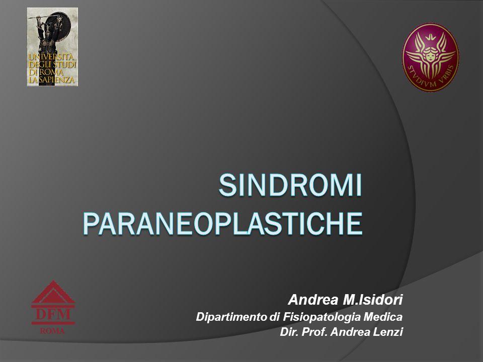 Sindromi paraneoplastiche