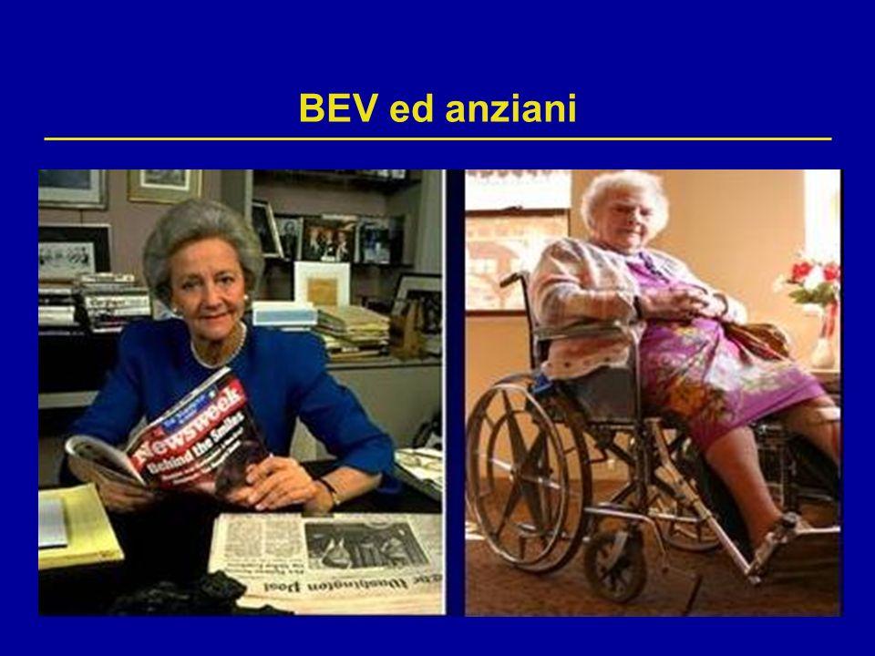 BEV ed anziani Nel registro BRiTE 896 di 1953 pazienti  65 aa