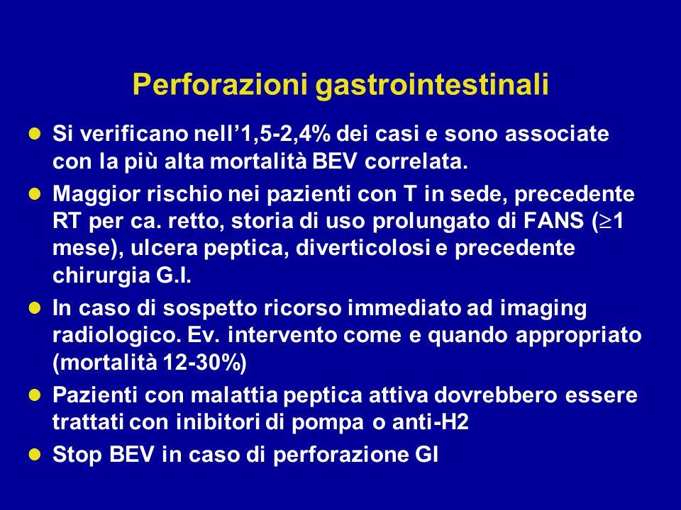 Perforazioni gastrointestinali