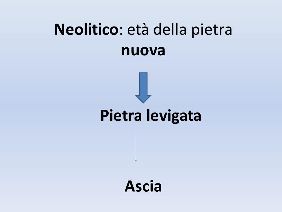 Neolitico: età della pietra nuova