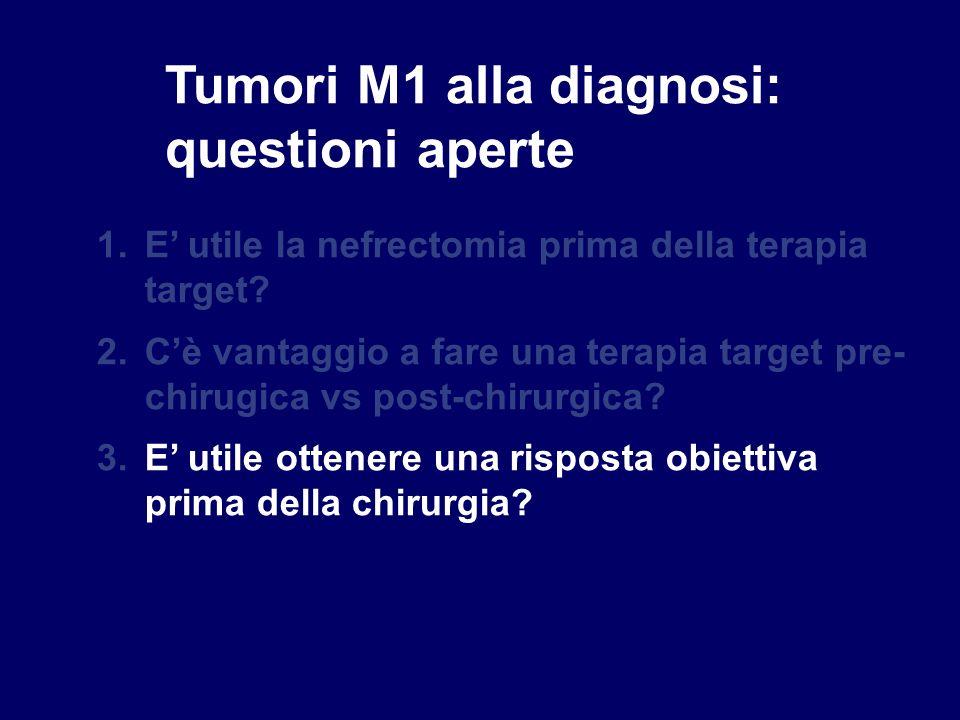 Tumori M1 alla diagnosi: questioni aperte