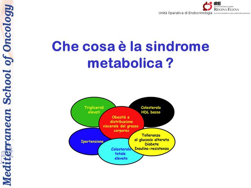 Che cosa è la sindrome metabolica