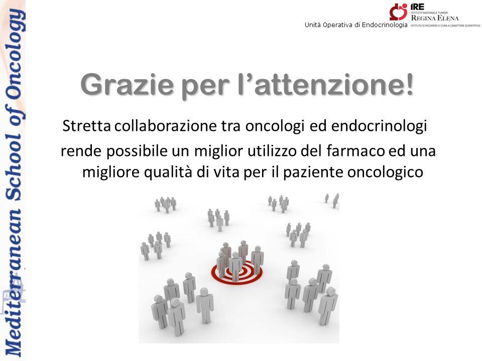 Stretta collaborazione tra oncologi ed endocrinologi