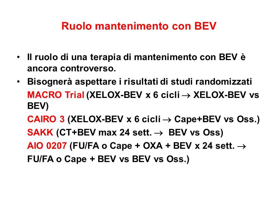Ruolo mantenimento con BEV