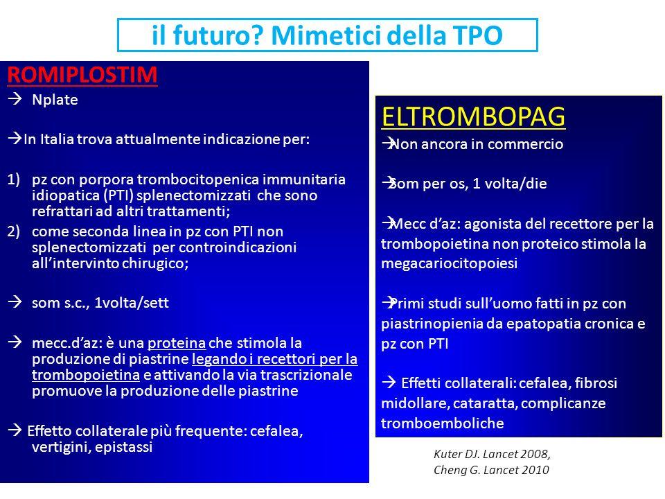 il futuro Mimetici della TPO