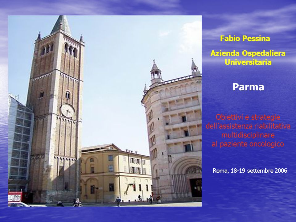 Parma Fabio Pessina Azienda Ospedaliera Universitaria