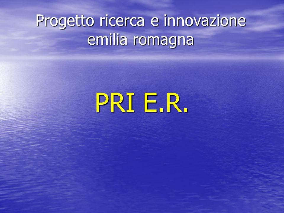 Progetto ricerca e innovazione emilia romagna