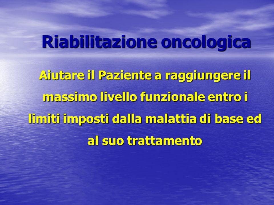 Riabilitazione oncologica