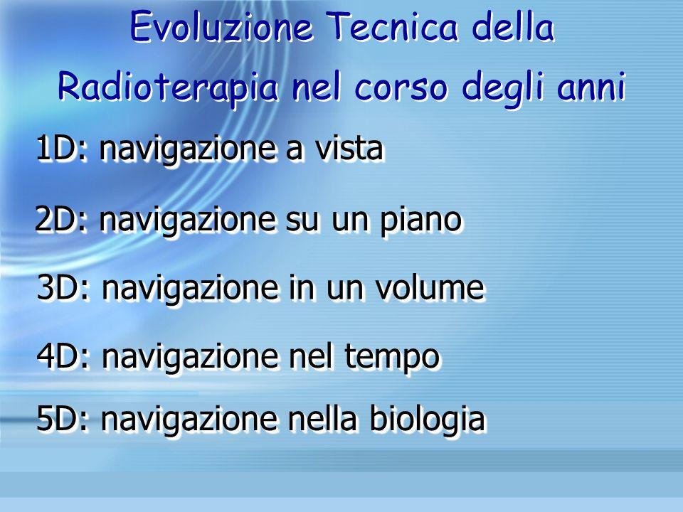 Evoluzione Tecnica della Radioterapia nel corso degli anni