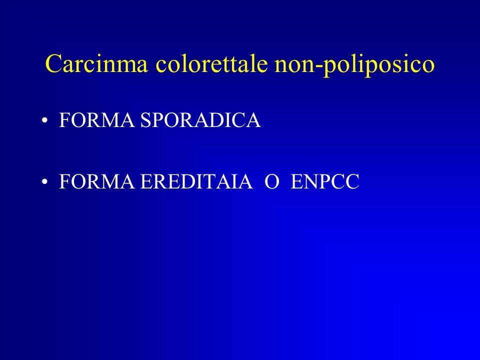 Carcinma colorettale non-poliposico