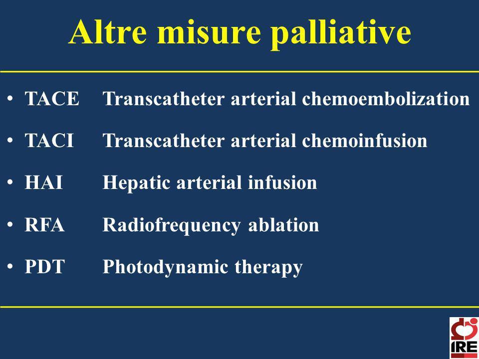 Altre misure palliative