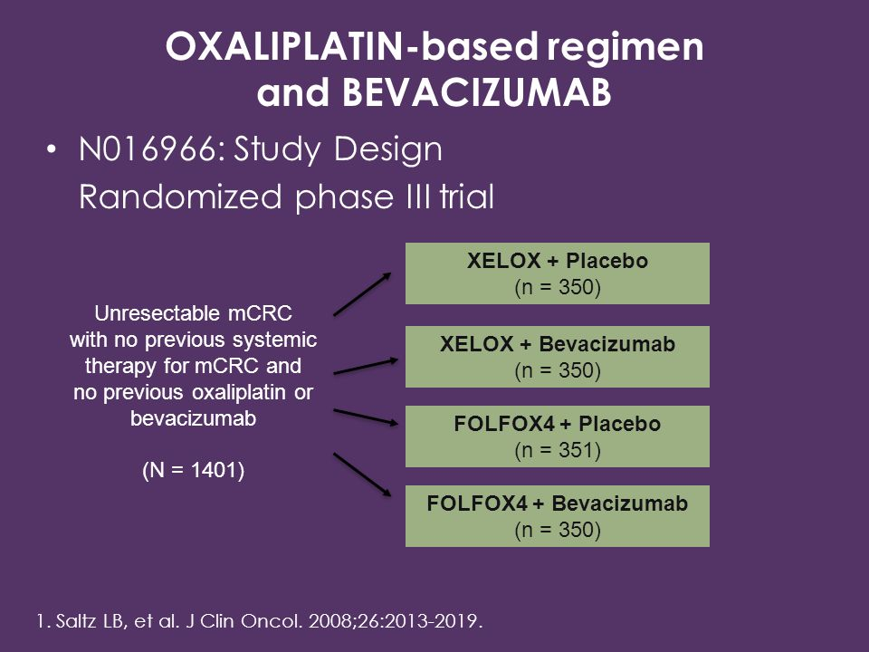 OXALIPLATIN-based regimen