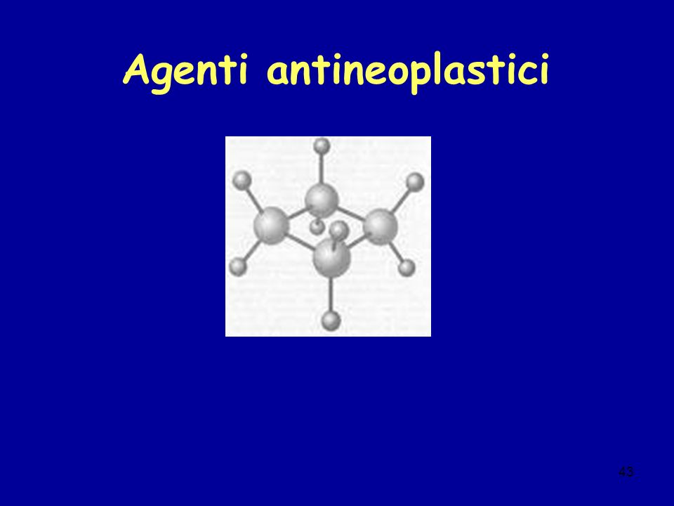 Agenti antineoplastici