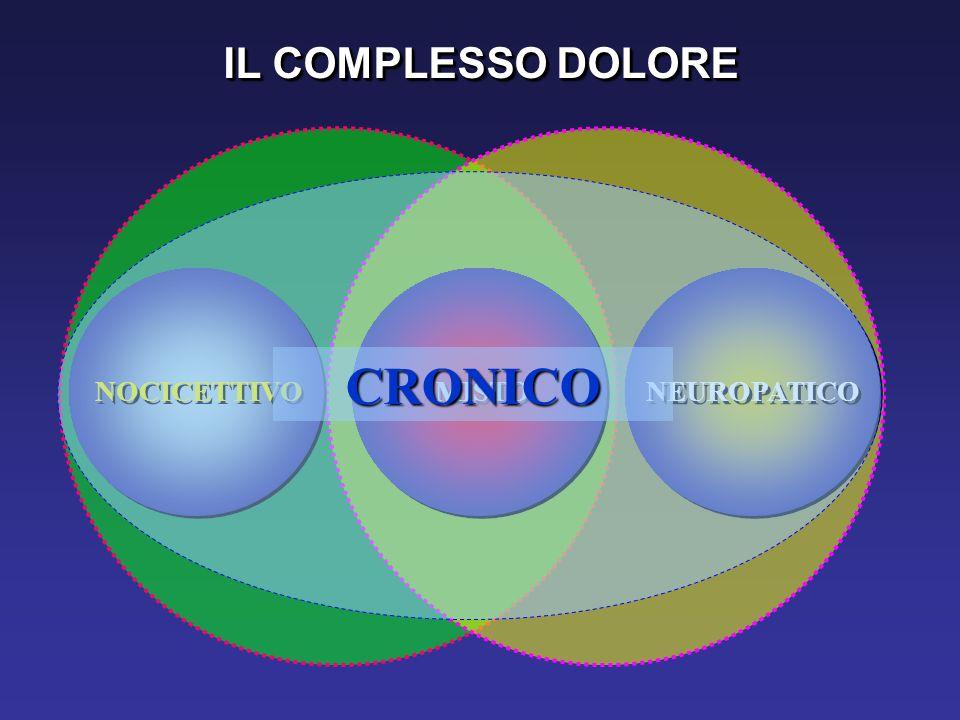 CRONICO IL COMPLESSO DOLORE NOCICETTIVO MISTO NEUROPATICO