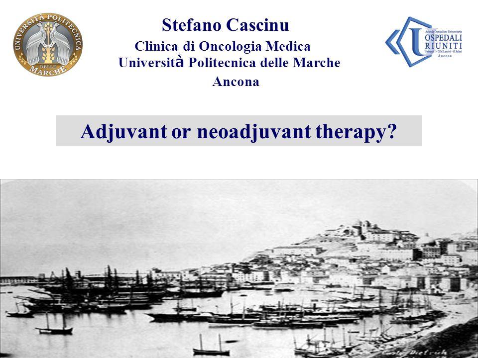 Adjuvant or neoadjuvant therapy