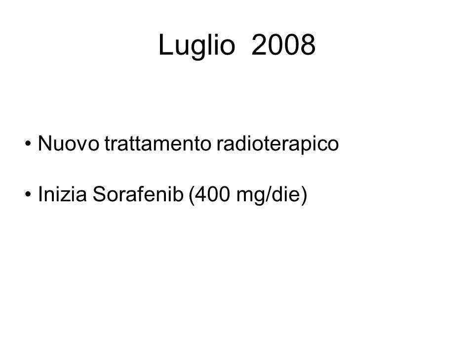 Luglio 2008 Nuovo trattamento radioterapico