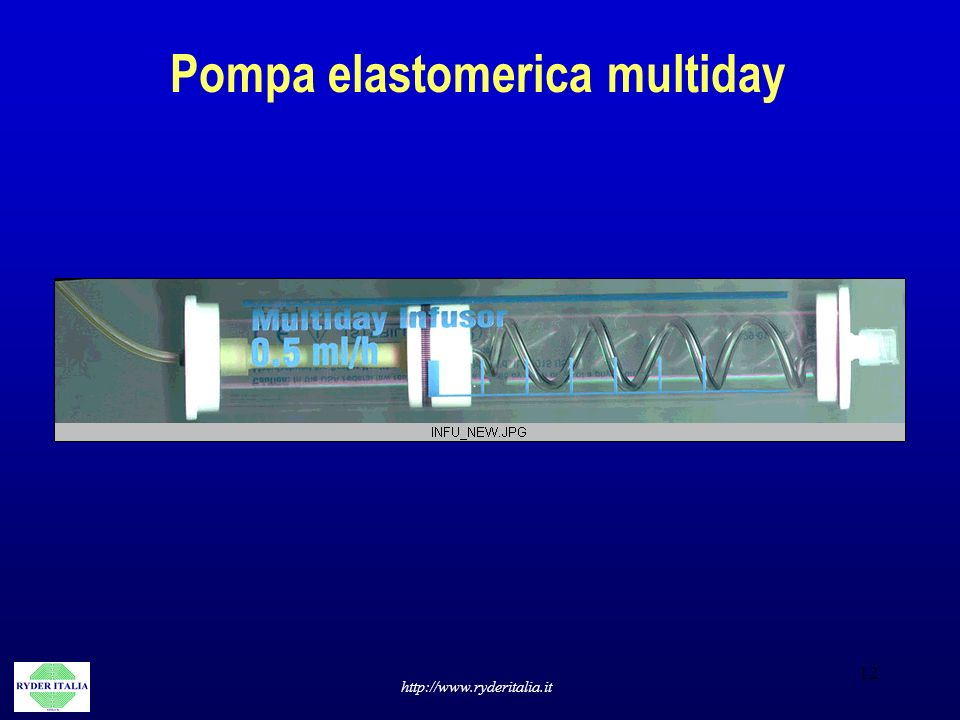 Pompa elastomerica multiday