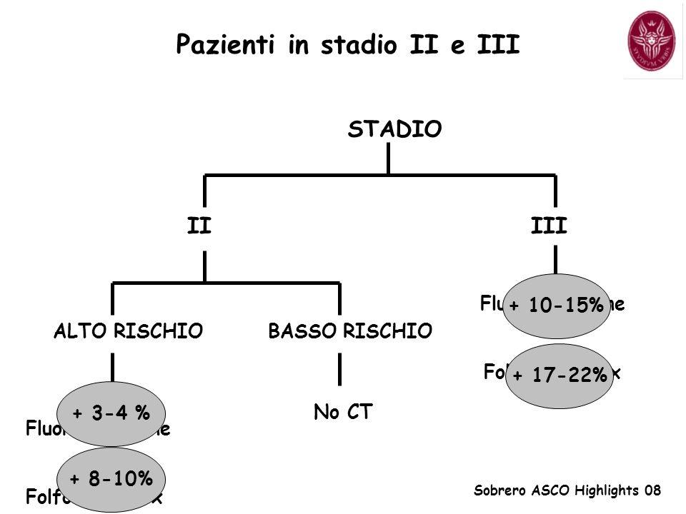 Pazienti in stadio II e III