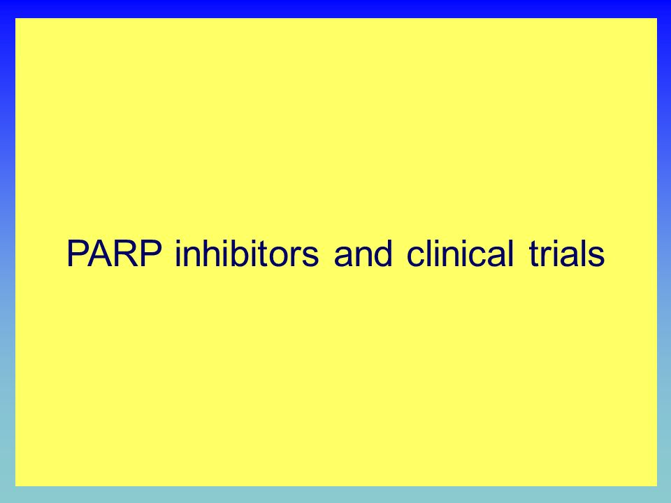 PARP INHIBITION BY NICOTINAMIDE ANALOGUES