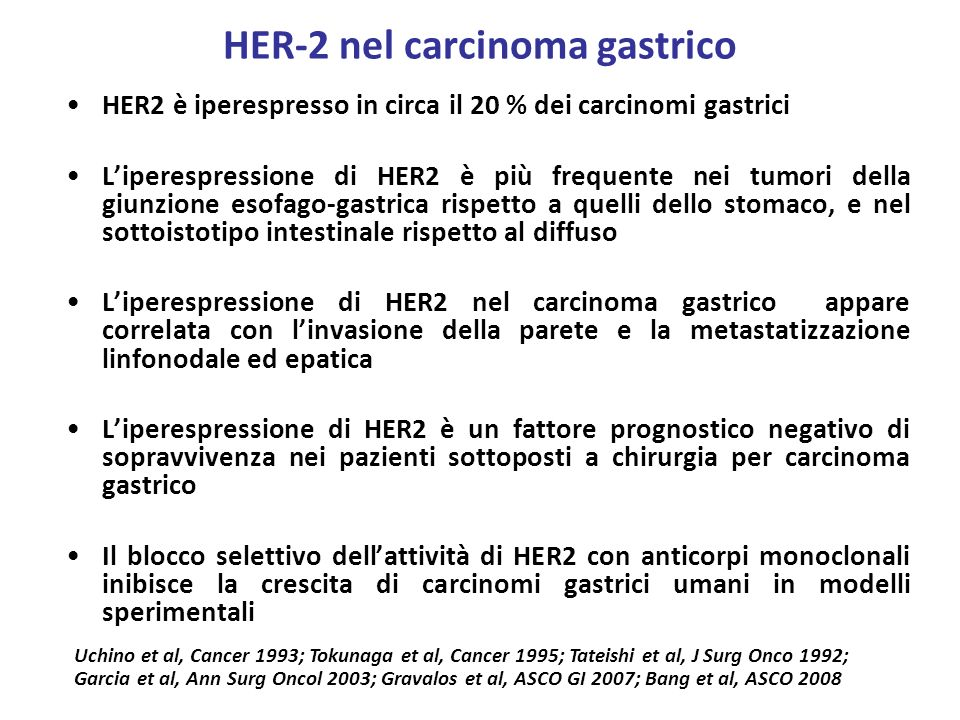 HER-2 nel carcinoma gastrico