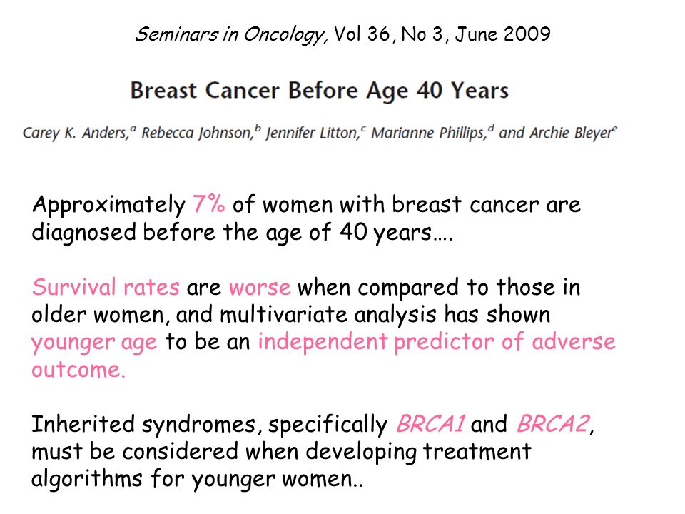 Seminars in Oncology, Vol 36, No 3, June 2009